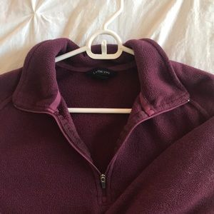 Lands End half zip